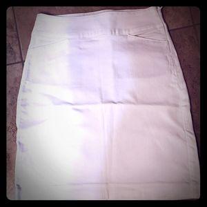 White Talbots skirt
